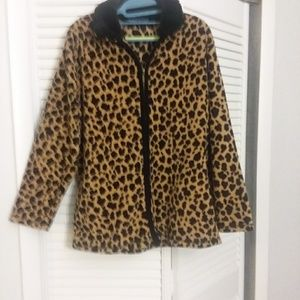 Leopard..soft..comfy..looks good